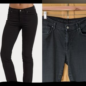Citizens of Humanity black straight jeans 👖